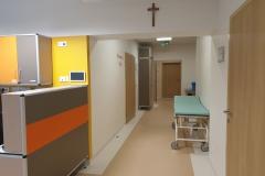 Blok porodowy korytarz