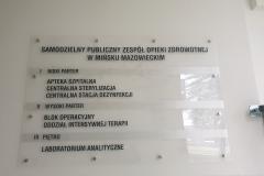 Tablica informacyjna Pawilon