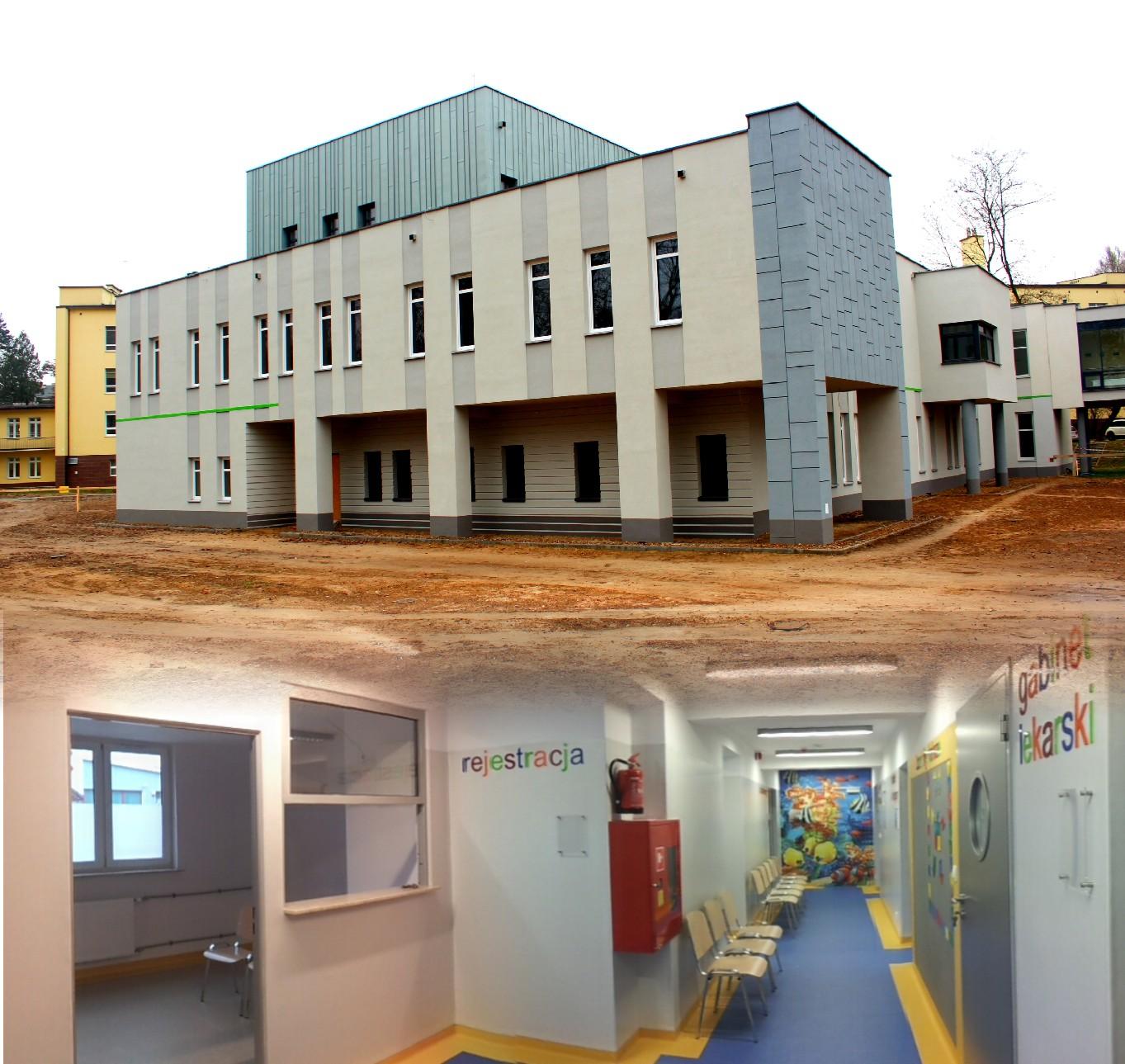 Rozbudowa pawilonu SPZOZ oraz modernizacja Przychodni Lekarskiej