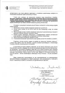 List otwarty OZPSP do Premiera i Ministra Zdrowia str 2