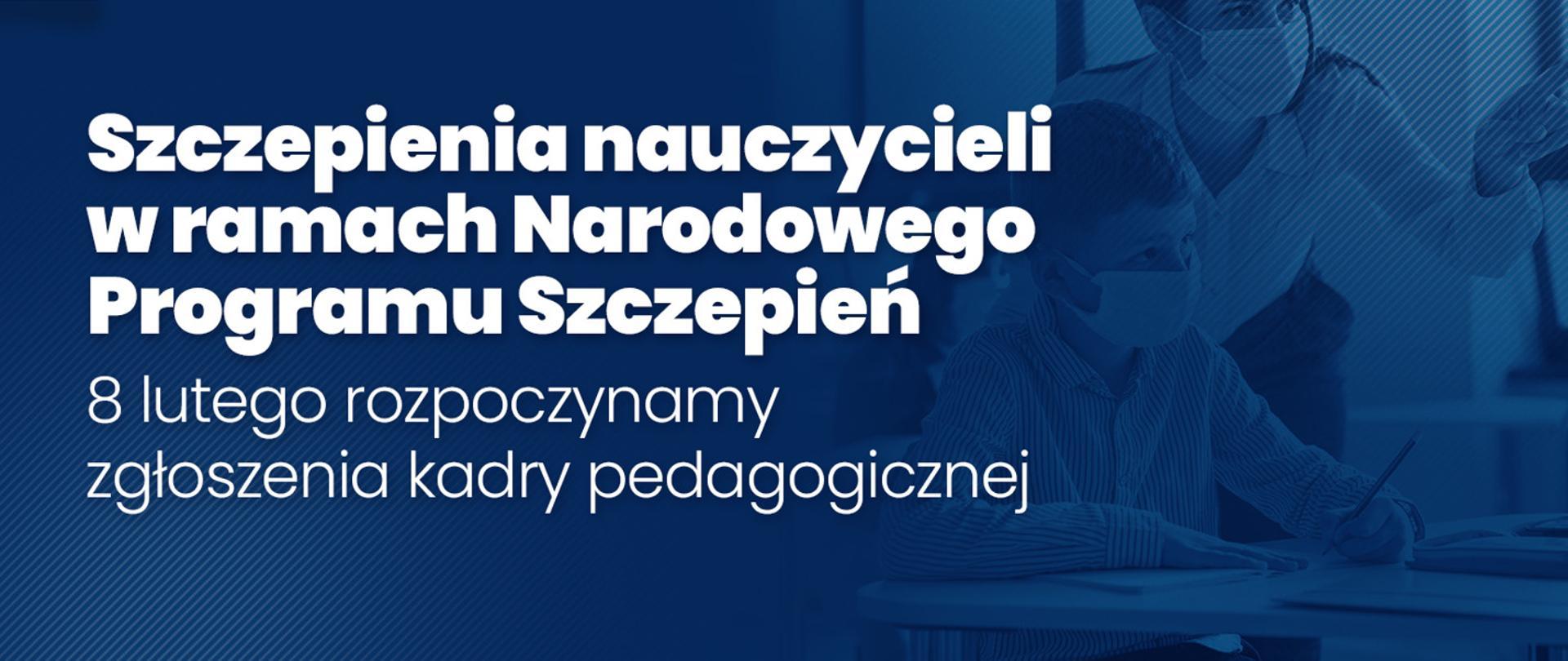 Szczepienia nauczycieli p/COVID-19