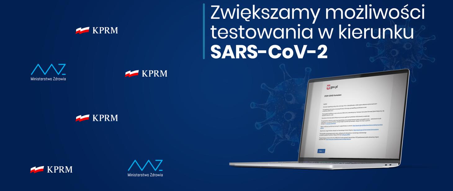 Zgłoszenie testowania na Covid-19 – online