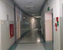 Korytarz podziemny (USG, TK)